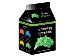 Growing green crystals