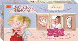 Baby's foot & hand prints by GAPCHINSKA