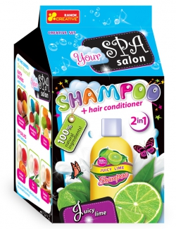 Shampoo & Hair Conditioner.Juicy Lime