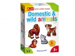 "Magnets ""Domestic & Wild Animals"""