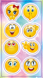 Stickers. Emotions