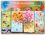 COLORING BOOK. FOUR SEASONS