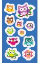Stickers. Owls